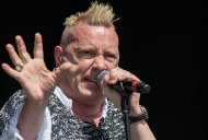 John Lydon performs at the Glastonbury Festival in 2013