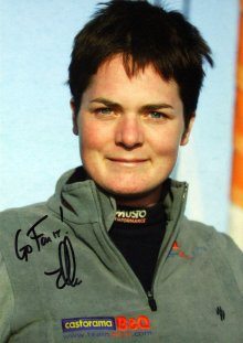 My autographed photo of Ellen MacArthur