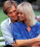 Simon MacCorkindale & his wife Susan George