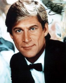 Simon MacCorkindale signed photograph