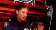 Simon MacCorkindale as the Flight Boss in 'Wing Commander' (1999)