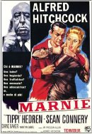 Film poster for Alfred Hitchcock's film 'Marnie'