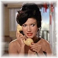 Zena Marshall as Miss Taro in Dr No