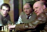 Rik Mayall with Brian Glover in 'An American Werewolf in London'