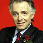 Rik Mayall as Alan B'Stard  in 'The New Statesman'