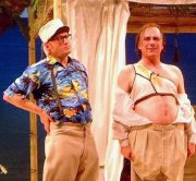 Adrian Edmondson & Rik Mayall in 'Bottom Live 2003'