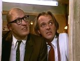 Adrian Edmondson & Rik Mayall in 'Bottom'