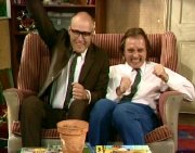 Rik Mayall & Adrian Edmondson in 'Bottom'