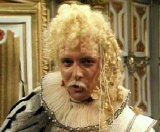 Rik Mayall as Lord Flashheart in 'Blackadder II'