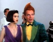 Rik Mayall & Phoebe Cates in 'Drop Dead Fred'