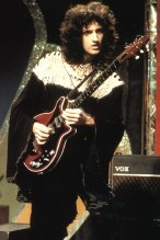 Brian May in 1974
