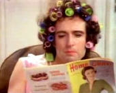 Brian May in the video to 'I Want to Break Free'