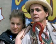 Sylvester McCoy & Sophie Aldred in 'Doctor Who'