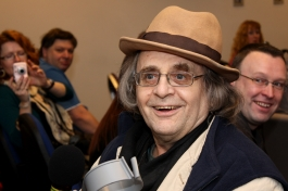 Sylvester McCoy at the 10th Planet 'Doctor Who' event at Cheshunt in March 2010