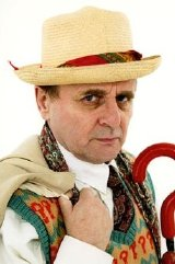 Sylvester McCoy the seventh Doctor in 'Doctor Who'