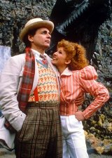 Sylvester McCoy & Bonnie Langford in 'Doctor Who'