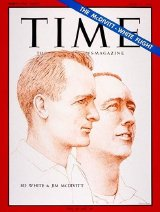 Ed White & Jim McDivitt feature on the cover of 'Time Magazine' June 11th 1965