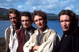 Joe, Stephen, Mark & Paul McGann in 'The Hanging Gale'