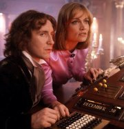 Paul McGann and Daphne Ashbrook in 'Doctor Who: The Movie'
