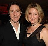 Paul McGann with Susannah Harker