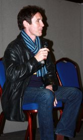Paul McGann answering questions from the audience at Collectormania in Coventry (November 2008)