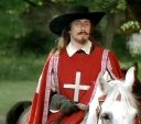 Paul McGann as Jussac in 'The Three Musketeers'