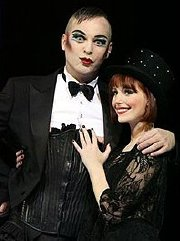 Alistair McGowan & Amy Nuttall in 'Cabaret'