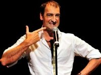 Alistair McGowan as a stand-up comedian
