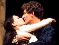 Ian McKellen & Francesca Annis in the RSC production of Shakespeare's 'Romeo and Juliet' (1974)