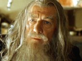 Ian McKellen as Gandalf in 'Lord of the Rings: Fellowship of the Ring' (2001)