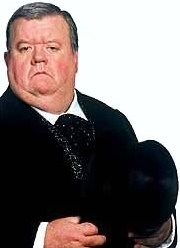 Ciaran Brown meets actor Ian McNeice Ian Mcneice In Harry Potter