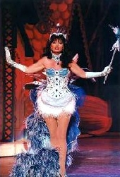 Vicki Michelle as the fairy in 'Mother Goose'