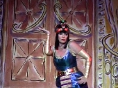 Vicki Michelle as Asphynxia in 'Salad Days'