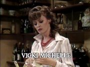 Vicki Michelle's credit at the end of an episode of 'Allo 'Allo