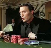 Mads Mikkelsen as Le Chiffre in 'Casino Royale'