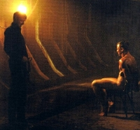 Mads Mikkelsen & Daniel Craig in the torture scene from 'Casino Royale'