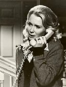 Juliet Mills as Susan Moroni in 'Alone With Terror' (1973), an episode of the TV series 'The ABC Afternoon Playback'