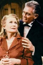 Juliet Mills & David Hedison in Noel Coward's 'Blithe Spirit' at West Long Branch, New Jersey in 1997