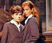 June Harding & Hayley Mills in 'The Trouble with Angels' (1966)