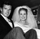 Juliet Mills with her first husband Russell Alquist