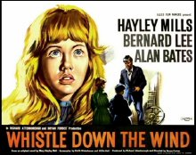 Film poster for 'Whistle Down the Wind'