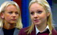 Lisa Maxwell & Georgia Moffett in 'The Bill' (2002)