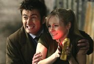 David Tennant & Georgia Moffett in the 'Doctor Who' episode entitled 'The Doctor's Daughter' (2008)
