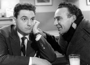 Bob Monkhouse & Kenneth Connor In Carry On Sergeant