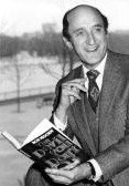 Ron Moody with his first published novel 'The Devil You Don't'