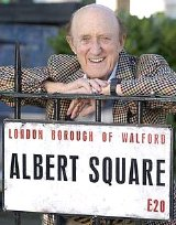 Ron Moody had a role in the soap 'EastEnders' in 2003