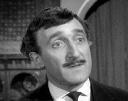 Ron Moody as Ponsonby-Hopkirk in 'The Avengers'