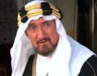 Ron Moody as King Awad in 'Wrong is Right'