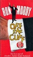 Ron Moody's book about after-dinner speaking 'Off the Cuff'