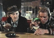 Ron Moody as Steps & David Soul as Pritt in 'Dogpound Shuffle'